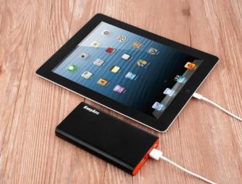 EasyAcc-10000mAh-Ultra-Kompakt-Dual-USB-31A-Ausgang-Portable-Power-Bank-Externer-Akku-Ladegert-fr-Handy-iPhone-Samsung-iPad-5V-Tablets-Smartphone-Schwarz-und-Orange-0-1