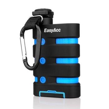 EasyAcc-9000mAh-Wasserdichte-Staubdichte-und-Stofeste-Outdoor-Power-Bank-mit-Kompass-und-Karabiner-Haken-21-A-Ausgang-Externer-Akku-fr-iPhone-Samsung-Handy-Android-Windows-Smartphones-5-V-Tablets-Goog-0