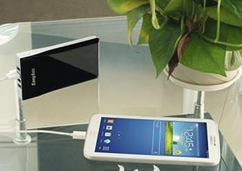 EasyAcc-Super-12000mAh-4-USB-PowerBank-Pack-Handy-Externer-Akku-Tragbares-Ladegert-Schwarz-0-3