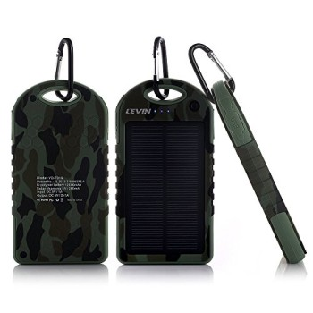 Levin-Solstar-Giant-Solar-Panel-Ladegert-12000mAh-Regenbestdiges-Staubdichtes-und-Stofestes-Duale-USB-Ports-Tragbares-Ladegert-Externe-Batterie-Power-Bank-fr-iPhone-6Plus-6-5S-5C-5-4S-4-iPad-Air-Other-0-0