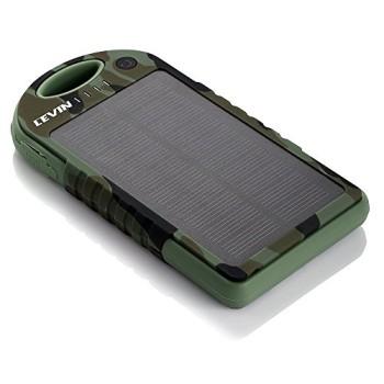 Levin-Solstar-Giant-Solar-Panel-Ladegert-12000mAh-Regenbestdiges-Staubdichtes-und-Stofestes-Duale-USB-Ports-Tragbares-Ladegert-Externe-Batterie-Power-Bank-fr-iPhone-6Plus-6-5S-5C-5-4S-4-iPad-Air-Other-0-2