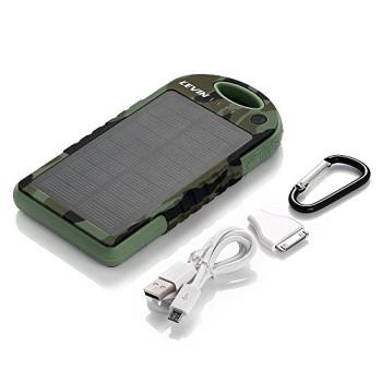 Levin-Solstar-Giant-Solar-Panel-Ladegert-12000mAh-Regenbestdiges-Staubdichtes-und-Stofestes-Duale-USB-Ports-Tragbares-Ladegert-Externe-Batterie-Power-Bank-fr-iPhone-6Plus-6-5S-5C-5-4S-4-iPad-Air-Other-0-3