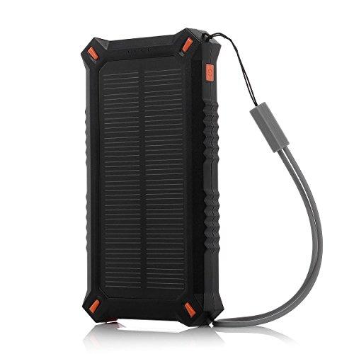 Poweradd-Apollo-3-Solar-Externer-Akku-Solar-Ladegert-Solar-Panel-Handy-Ladegert-mit-8000mAh-Kapazitt-fr-Handy-Smartphone-Tablet-Kamera-PSP-MP3-Navigation-und-andere-Gerte-Orange-0