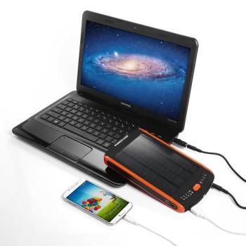 Poweradd-Apollo-Pro-23000mAh-Hochleistung-Solar-Panel-Multi-Spannung-5V-12V-16V-19V-Tragbar-Ladegerte-Externer-Akku-Power-Bank-mit-LED-Anzeige-fr-Tablet-PC-Netbooks-Notebooks-Laptops-Kompatibel-mit-Ac-0-2