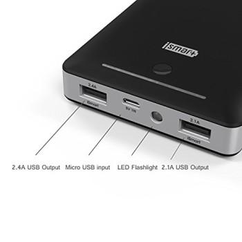 RAVPower-3-Gen-Deluxe-13000mAh-45A-Ausgang-Externer-Akku-Pack-Zusatzakku-Power-Bank-USB-Ladegert-fr-Smartphones-und-Tablets-schwarz-0-0
