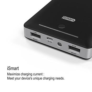 RAVPower-3-Gen-Deluxe-13000mAh-45A-Ausgang-Externer-Akku-Pack-Zusatzakku-Power-Bank-USB-Ladegert-fr-Smartphones-und-Tablets-schwarz-0-2