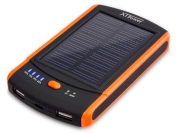 XTPower-MP-S6000-Solar-Powerbank-mobiler-externer-USB-Solarakku-Ladegert-mit-6000mAh-2-USB-21A-0