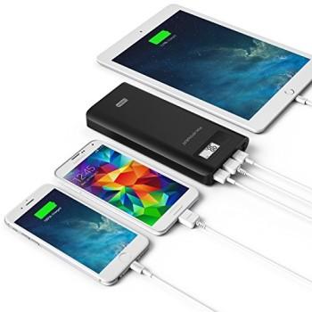 RAVPower-18200mAh-3-USB-Port-Externer-Akku-Pack-Zusatzakku-Power-Bank-Ladegert-fr-Smartphones-und-Tablets-0-0