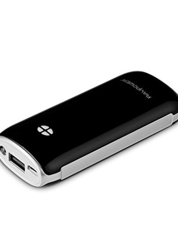 RAVPower-Luster-6000mAh-21A-Ausgang-Zusatzakku-Externer-Akku-Pack-Power-Bank-USB-Ladegert-mit-iSmart-Port-und-eingebauter-Taschenlampe-fr-Smartphones-und-Tablets-schwarz-0