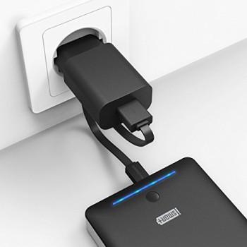 RAVPower-16000mAh-Externer-Akku-mit-eingebautem-Flashlicht-2A-Adapter-Schwarz-0-0