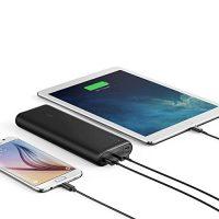 Anker-PowerCore-20100mAh-Externer-Akku-kompakter-als-jemals-zuvor-extrem-hohe-Kapazitt-2-Port-48A-Output-Power-Bank-Ladegert-mit-PowerIQ-Technologie-fr-iPhone-iPad-Samsung-Galaxy-und-weitere-SchwarzMa-0-1