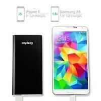EasyAcc-Metall-5000mAh-Externer-Akku-Ultra-Slim-PowerBank-Tragbare-Ladegert-fr-Smartphones-Schwarz-0-1