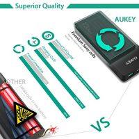 AUKEY-12000mAh-Powerbank-Externer-Akku-Mini-Design-Dual-Port-24A2-Maximale-Output-34A-AiPower-Technologie-und-Taschenlampe-fr-iPhone-Tablets-Smartphones-0-0