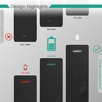 AUKEY-12000mAh-Powerbank-Externer-Akku-Mini-Design-Dual-Port-24A2-Maximale-Output-34A-AiPower-Technologie-und-Taschenlampe-fr-iPhone-Tablets-Smartphones-0-1