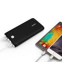 AUKEY-Power-Bank-20000mah-Externer-Akku-2-Ports-USB-Ladegert-mit-AiPower-Technologie-fr-iPhone-iPad-iTouch-Andriod-Phone-und-weiteren-Schwarz-0-2