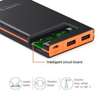 Lumsing-Glory-Series-P1-Plus-8000mAh-PowerPack-Ultra-dnn-Externe-Batterie-Akku-3-USB-Ports-Reiseadapter-fr-iPhone-Samsung-S6-Edge-HTC-Smartphones-Tablets-Schwarz-0-0