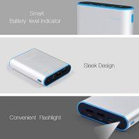 Lumsing-Grand-A1-Plus-13400mAh-Power-Bank-Externes-Akku-Betterie-fr-iPhone-6S66-Plus5SiPad-AirMiniRetinaSamsung-und-andere-Modelle-Silber-0-3