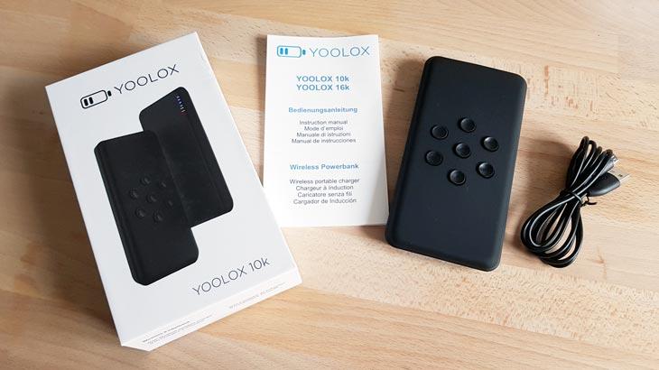 yoolox 10k 16000mah test