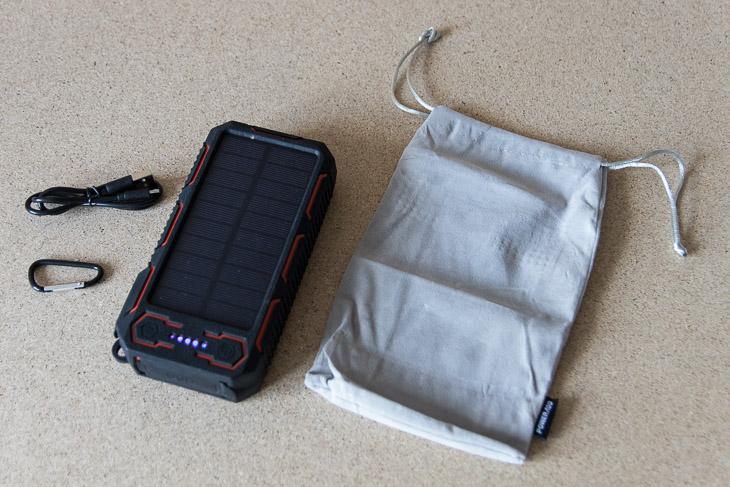 poweradd apollo solar 26800 lieferumfang